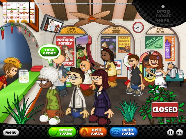 Free Online Games Serving Restaurant