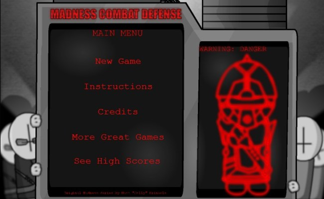 Madness Combat Defense Hacked Cheats Hacked Online Games