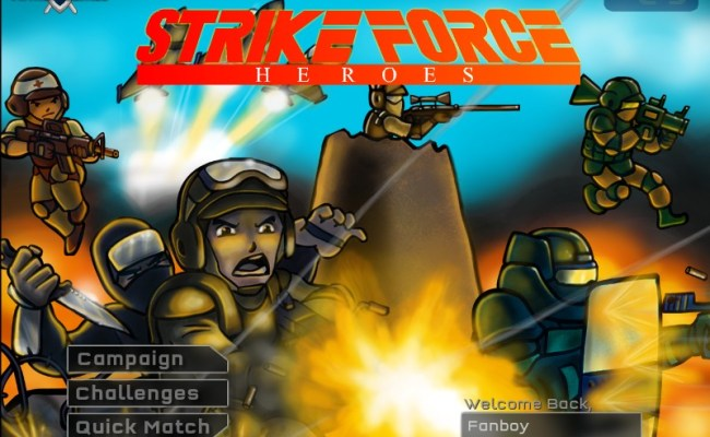 Strike Force Heroes Hacked Cheats Hacked Online Games