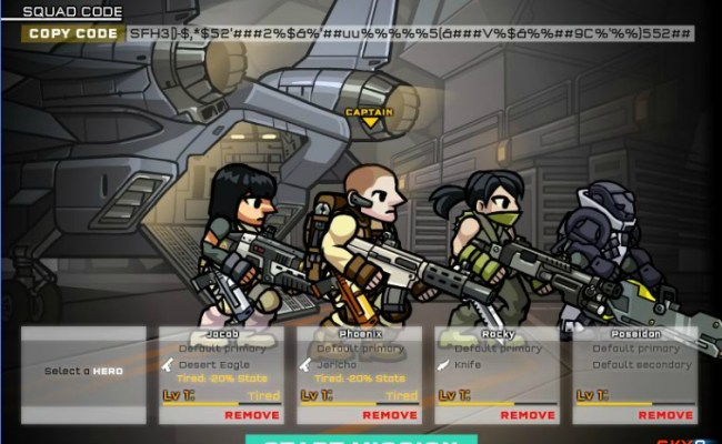 Strike Force Heroes 3 Hacked Cheats Hacked Online Games