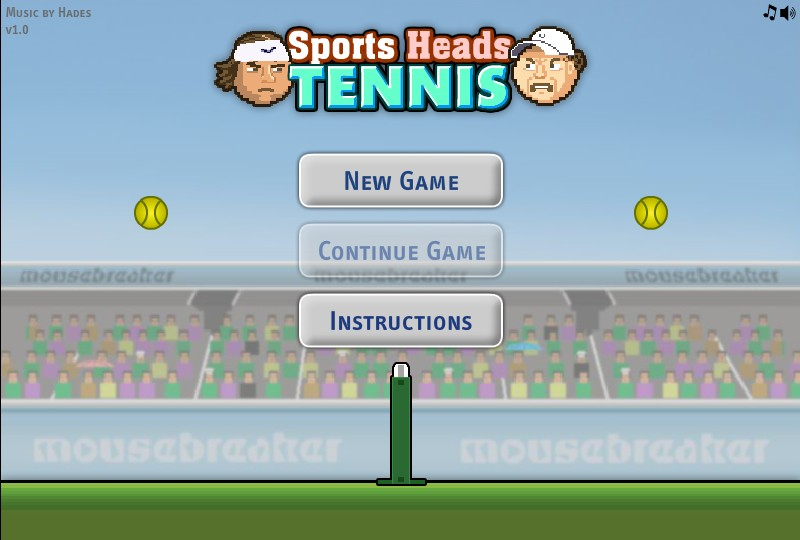 Sports Heads Tennis Hacked Cheats Hacked Online Games