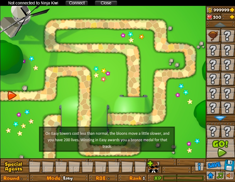Black And Gold Games: Bloons Tower Defense 5 Hacked Online Games