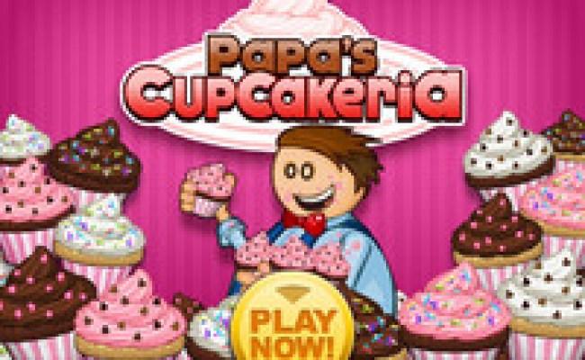 Play Papa S Cupcakeria Hacked Unblocked By Ihackedgames