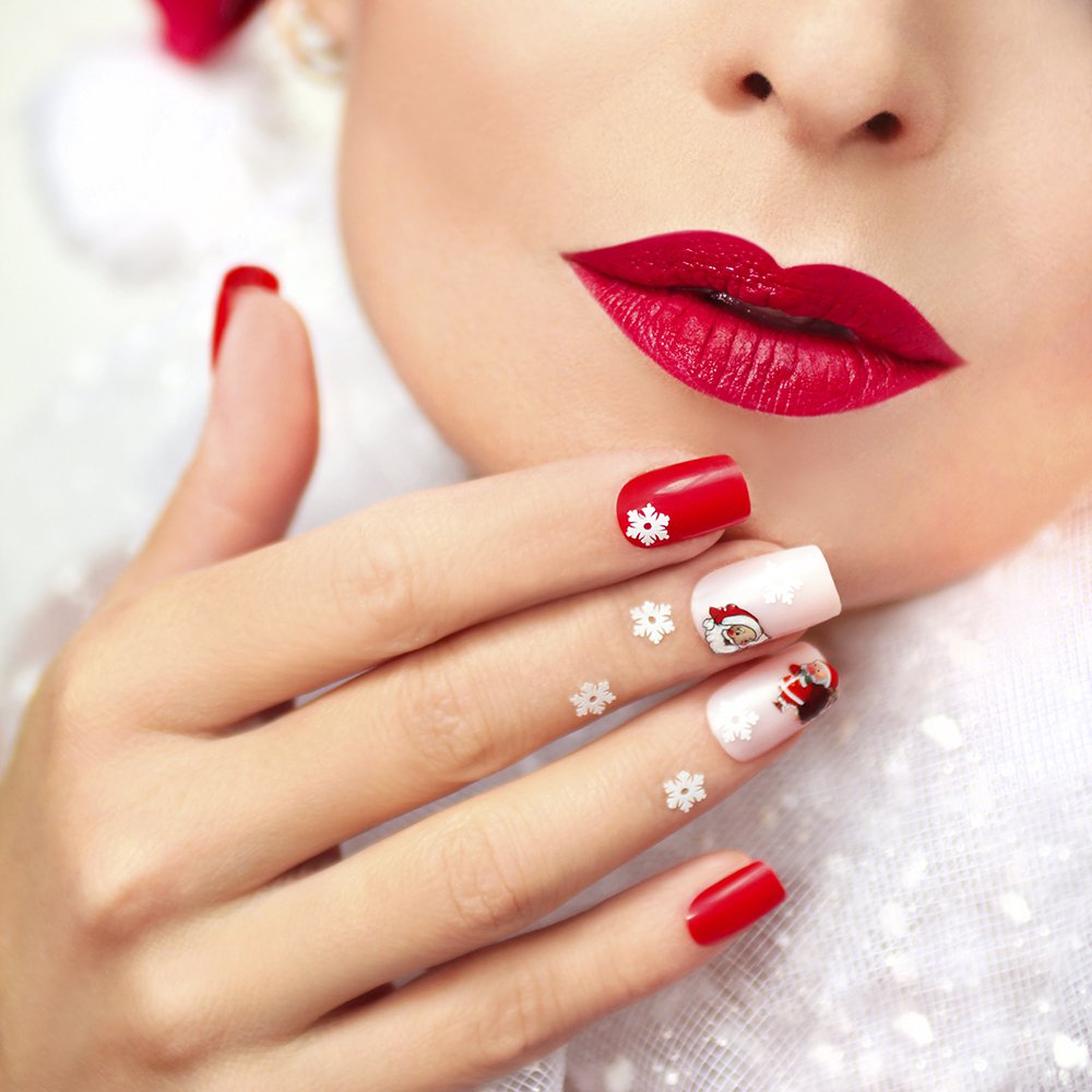 15 Ides Nail Art Pour Nol Magazine Avantages