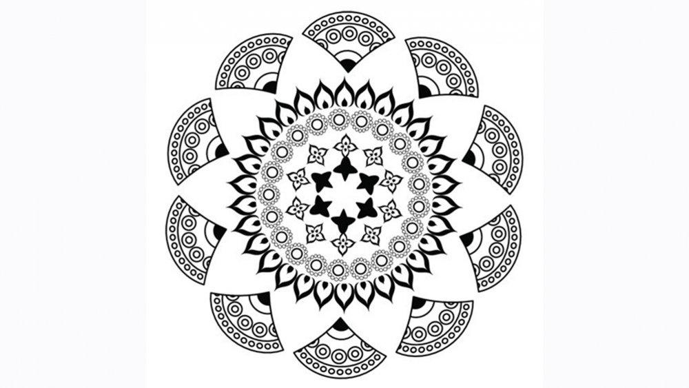 Dessin A Imprimer Dessins A Imprimer Mandala Magique