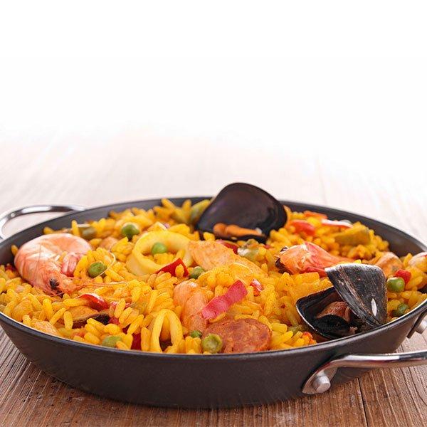 recette facile et pas chere pour pre ados la paella au poulet et gambas