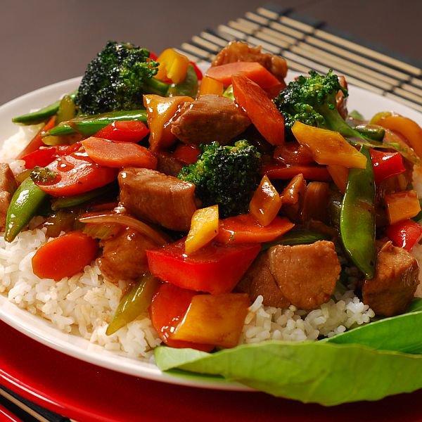 Une prparation inspire de la cuisine chinoise  Magicmamancom
