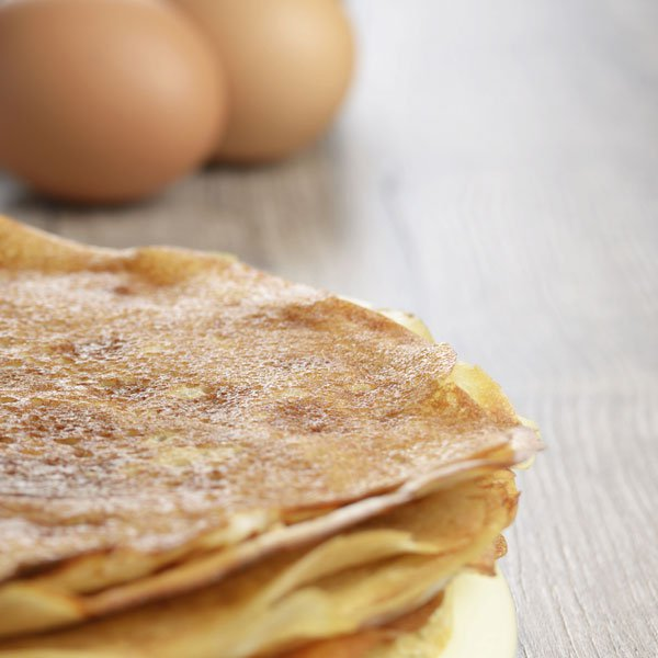 pate a crepes sans huile ni beurre