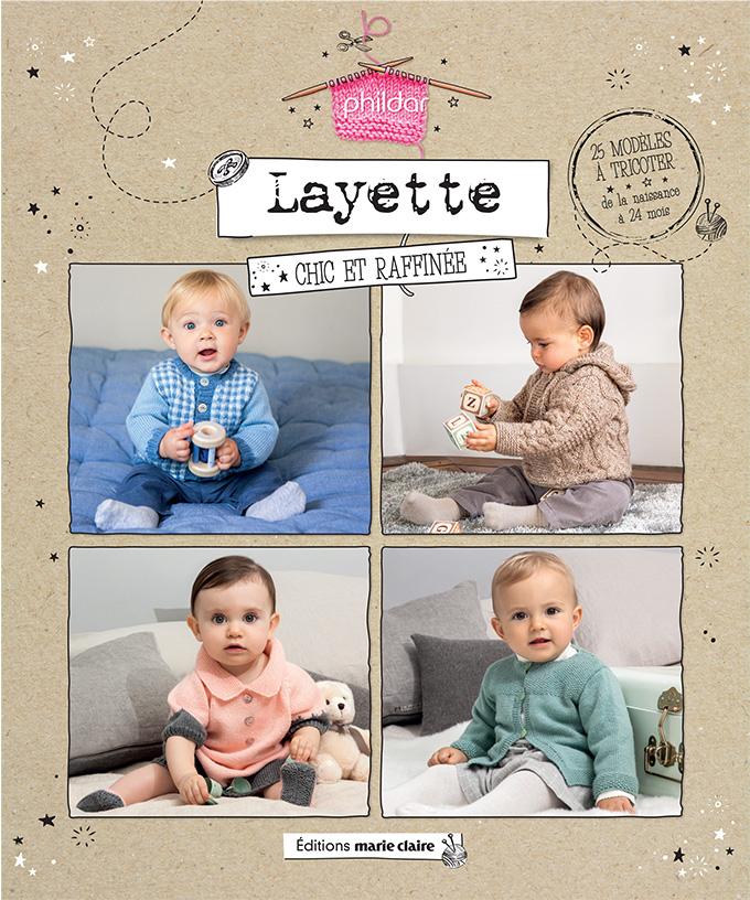 Livres patrons bébé tricot