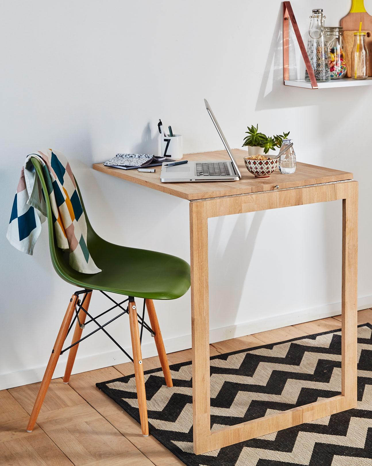 table de cuisine rabattable