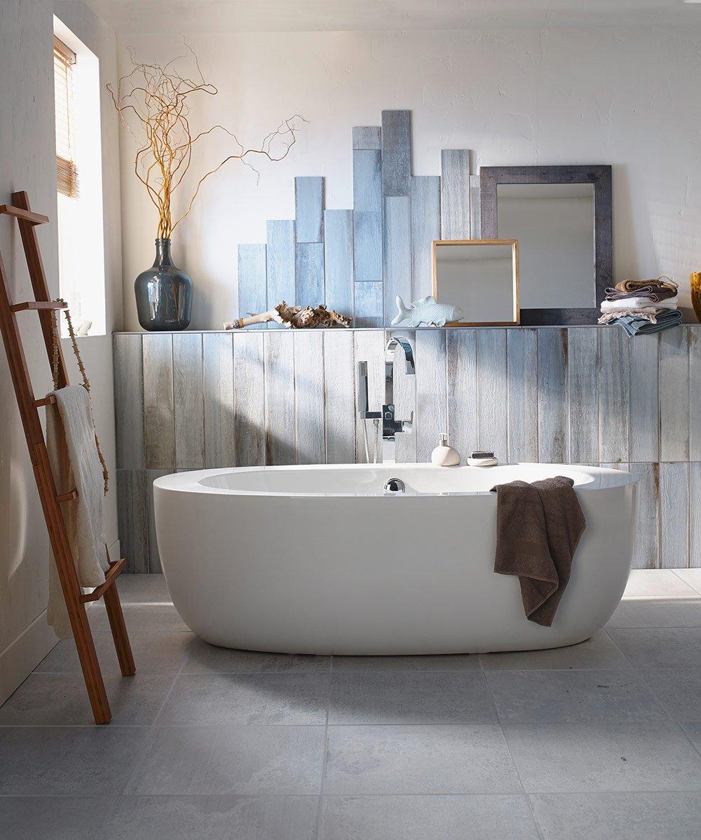 Salle de bains naturelle  nos ides dco  Marie Claire