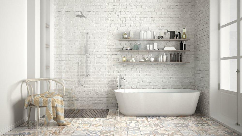 baignoires droites et baignoires d