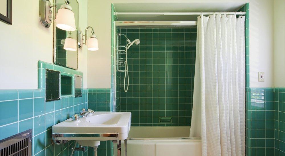 l installation d un rideau de douche
