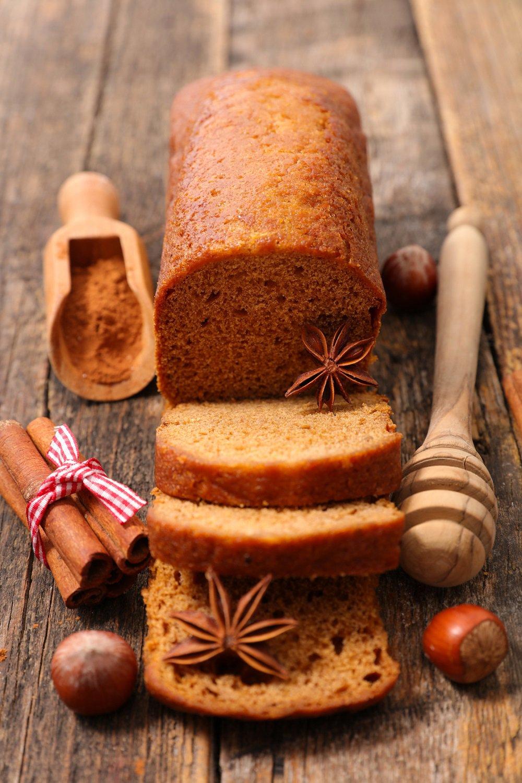 Recette pain dpices  la poudre de noisettes  Marie Claire