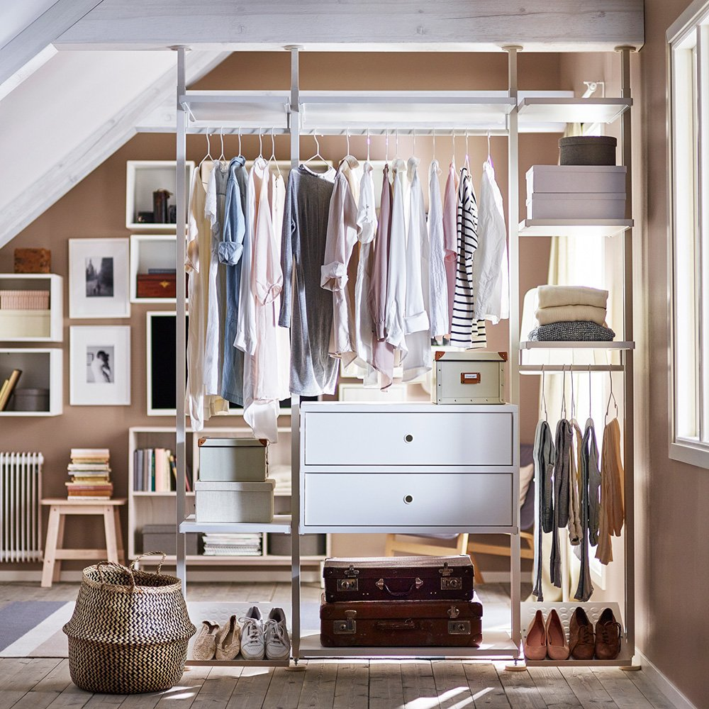 Amnager un dressing dans un studio  nos solutions