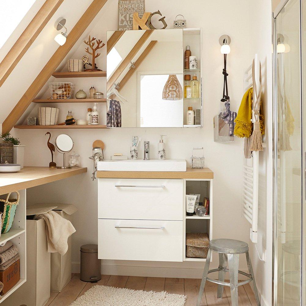 Stunning Armoire Toilette Remix Leroy Merlin Ideas - House Design ...