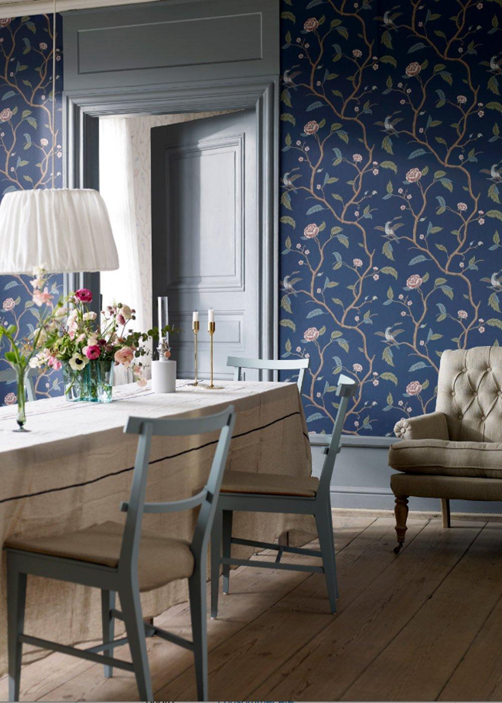 Inspiration  le papier peint fleuri ou  motif vgtal  Marie Claire