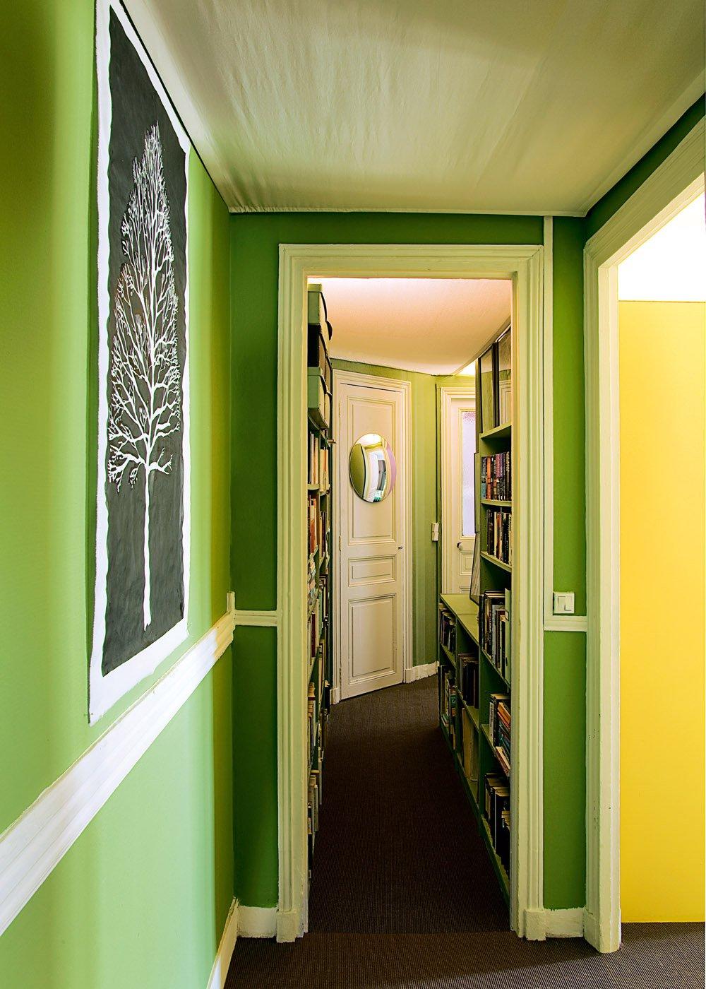 Un appartement parisien haut en couleurs  Marie Claire