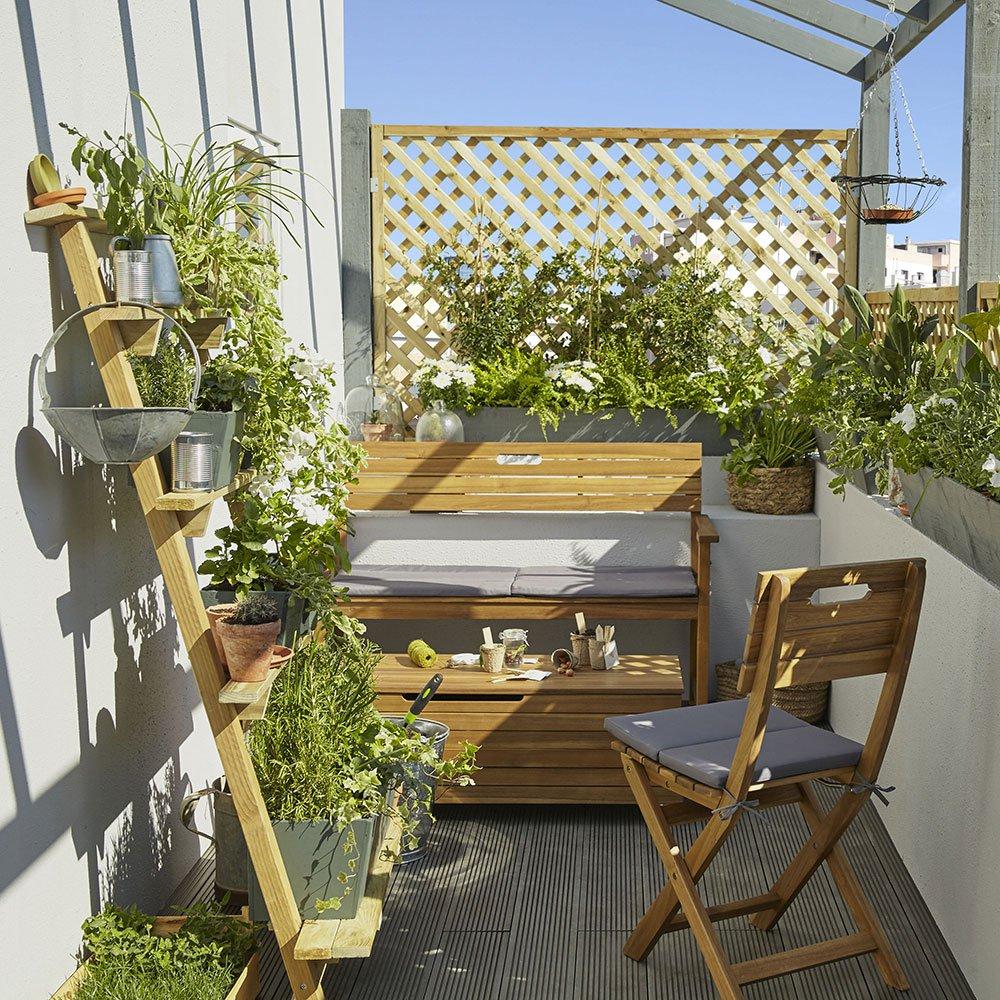 Choisir Les Plantes Pour Un Balcon Orient Ouest Marie