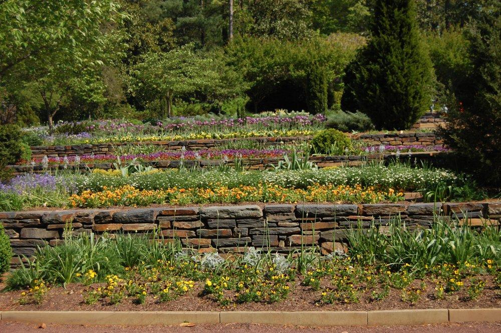 Amnager un jardin en terrasse en pente  Marie Claire