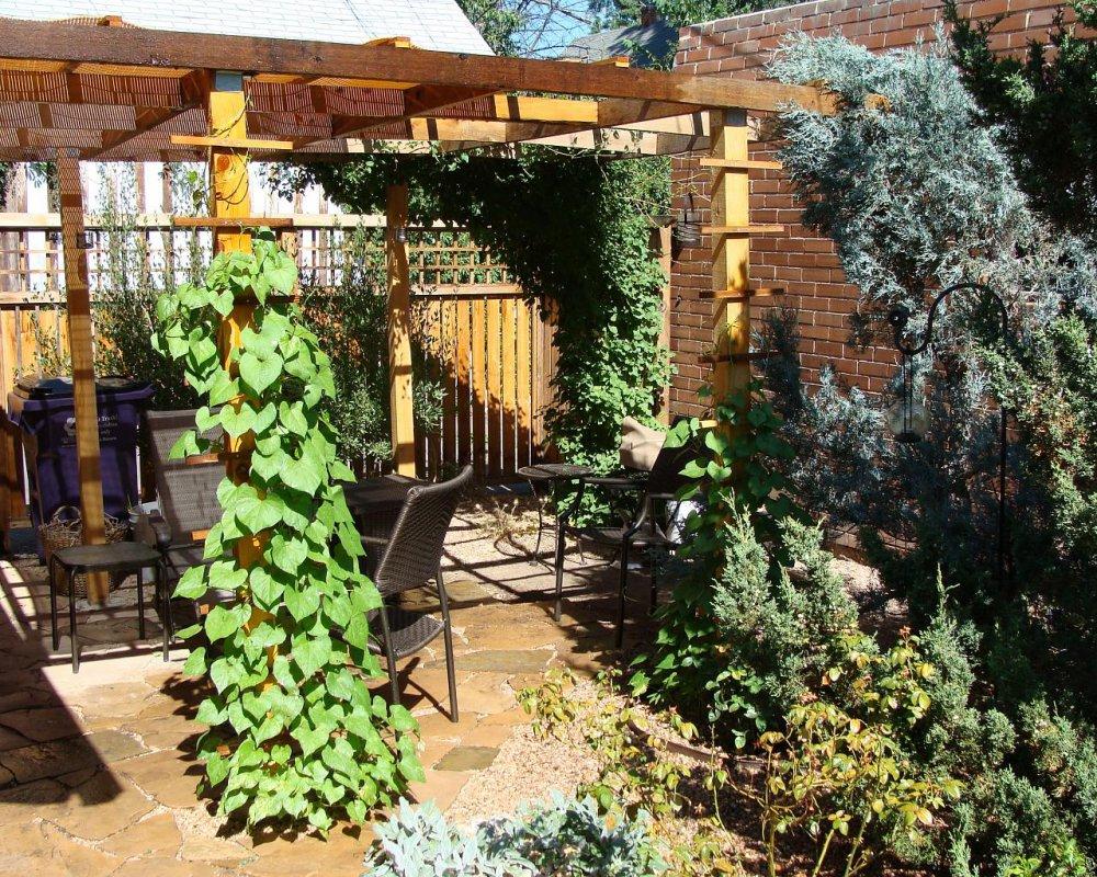 Jardin en terrasse  quelle dco   Marie Claire