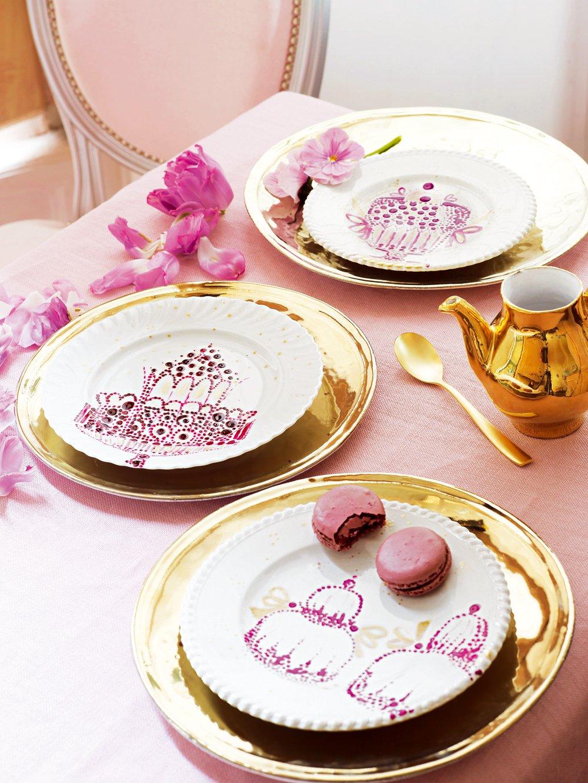Des assiettes peintes de gourmandises  Marie Claire