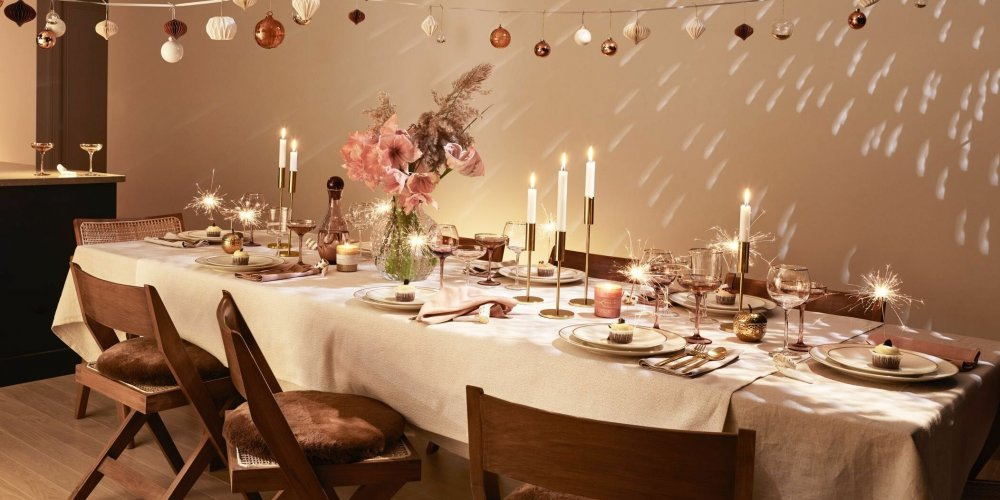idee deco table nouvel an marie claire