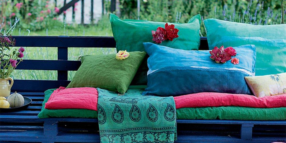 un salon de jardin diy en palettes