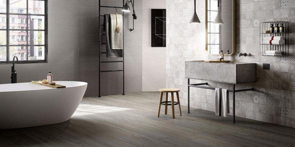Parquet dans la salle de bains  tout savoir sur ce revtement de sol  Marie Claire