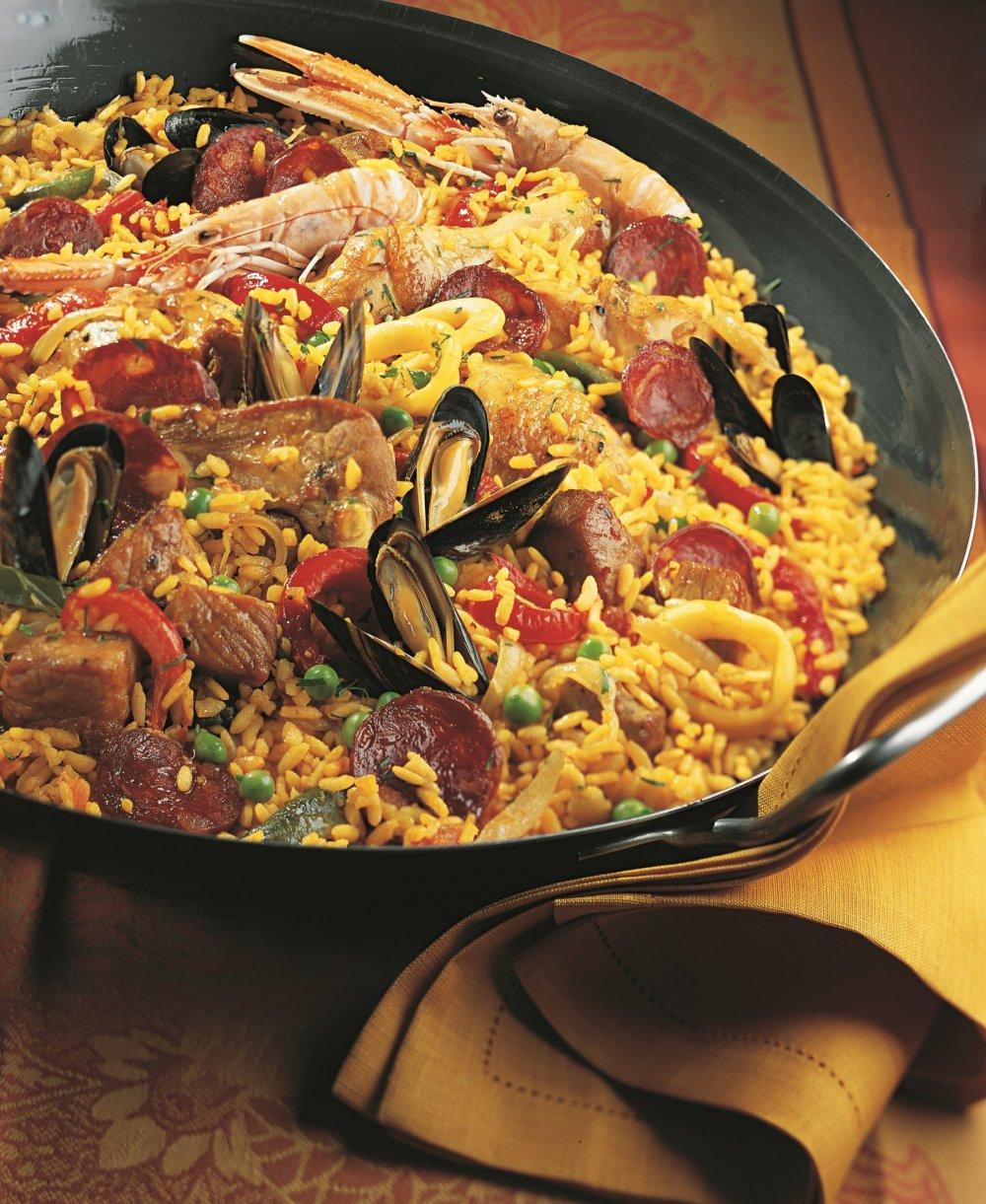 Que Boire Avec Une Paella : boire, paella, Recette, Paella, Royale, Marie, Claire