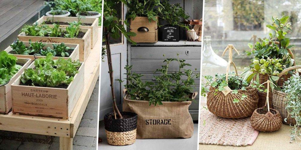 10 Jardinires Originales Pour Une Terrasse Surprenante