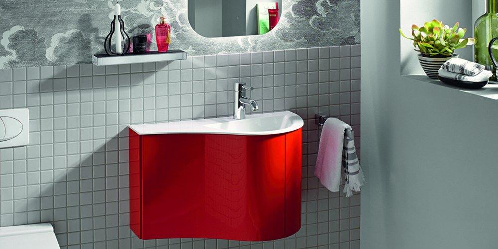 salle de bains rouge nos plus belles