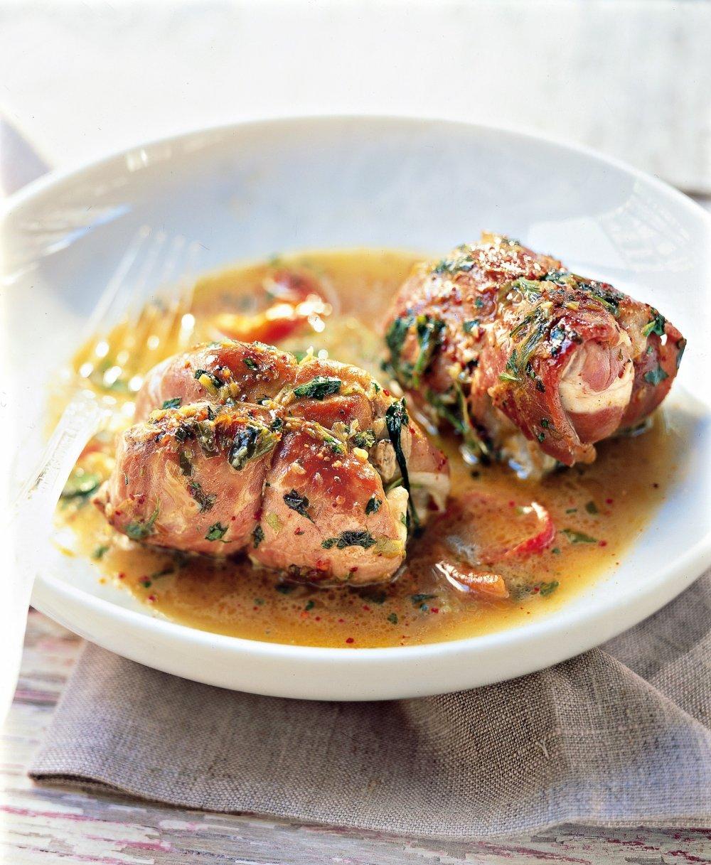 Cuisson Paupiette De Porc Au Four Simple : cuisson, paupiette, simple, Recette, Paupiettes, Jambon, Bayonne, Marie, Claire