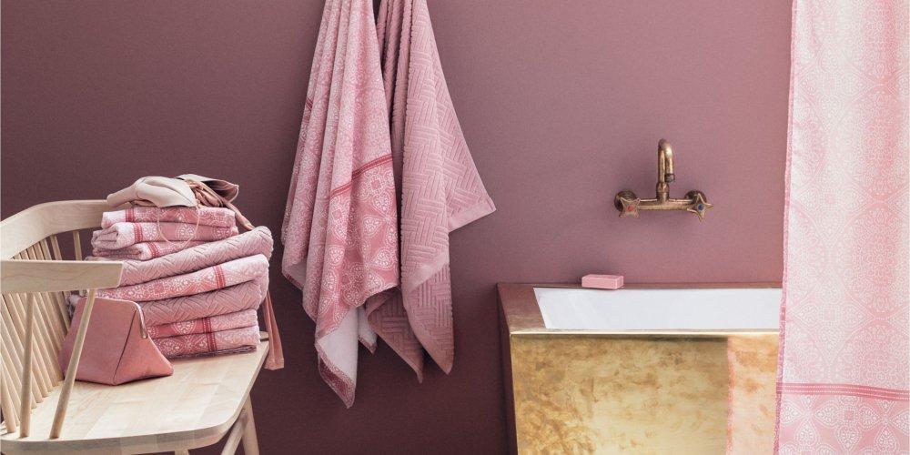 salle de bains rose toutes nos
