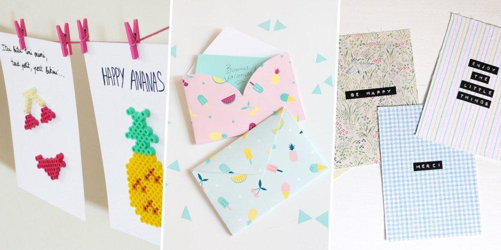 pendant les vacances prenez le temps d ecrire a vos proches grace a notre selection d idees pour faire des cartes postales et decorer son courrier