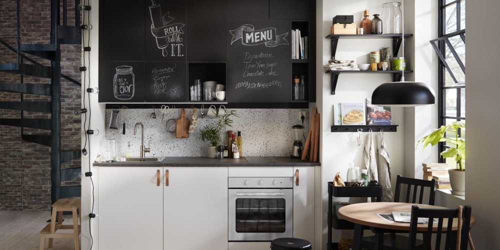 Amenagement Cuisine Espace Reduit Petites Cuisines Ikea Toutes Nos