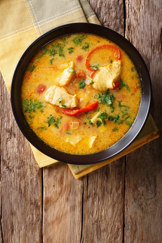 Dos De Cabillaud Au Curry : cabillaud, curry, Recette, Soupe, Cabillaud, Marie, Claire