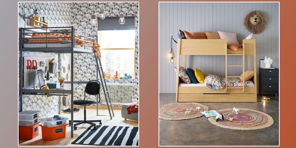 lits mezzanines et lits superposes