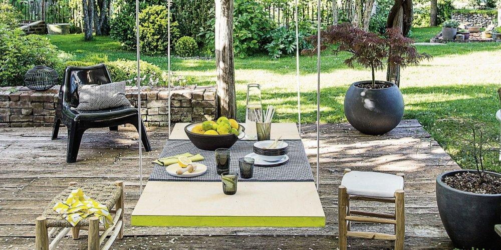 comment fabriquer une table de jardin