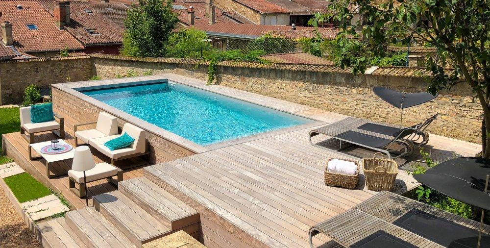 piscine hors sol tailles materiaux