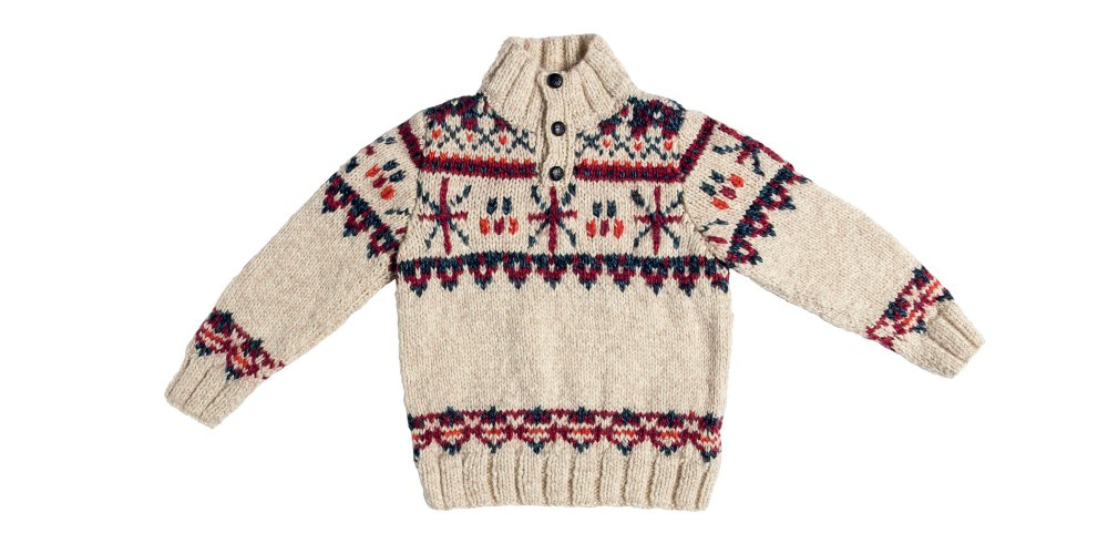 Patron Pour Tricoter Un Pull En Jacquard Et En Jersey Pour