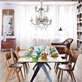 les plus belles salles a manger vintage