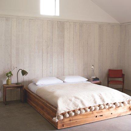 Le lambris dans la chambre  Marie Claire