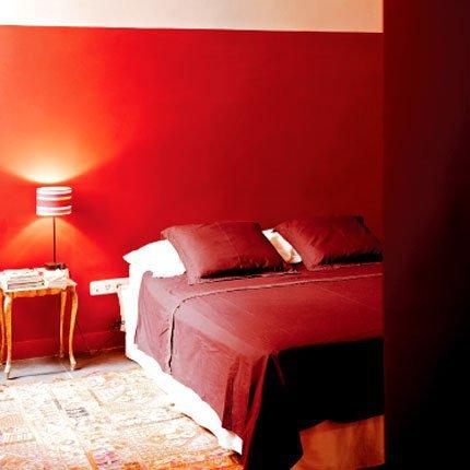 Chambre rouge ou chambre orange   Marie Claire