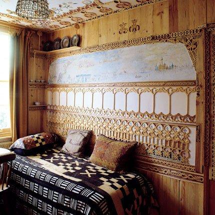 Chambre exotique en bois  Marie Claire