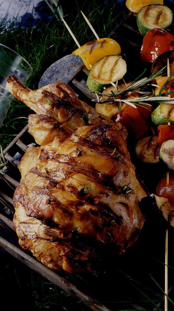 Recettes d'agneau barbecue par L'atelier des Chefs