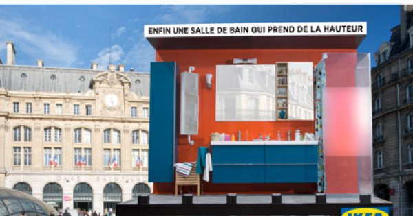 Ikea Invente La Salle De Bains Live Sur Panneau