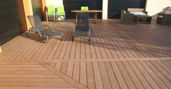 Terrasse composite  comment la construire   Marie Claire