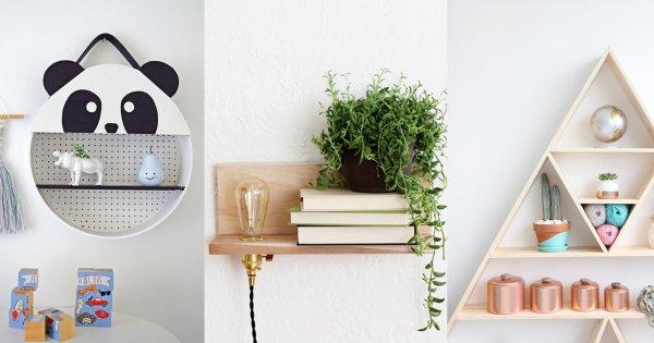 20 idees pour fabriquer une etagere