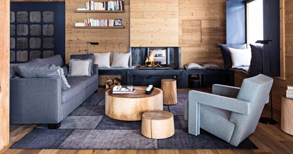 salon en bois 15 inspirations pour l